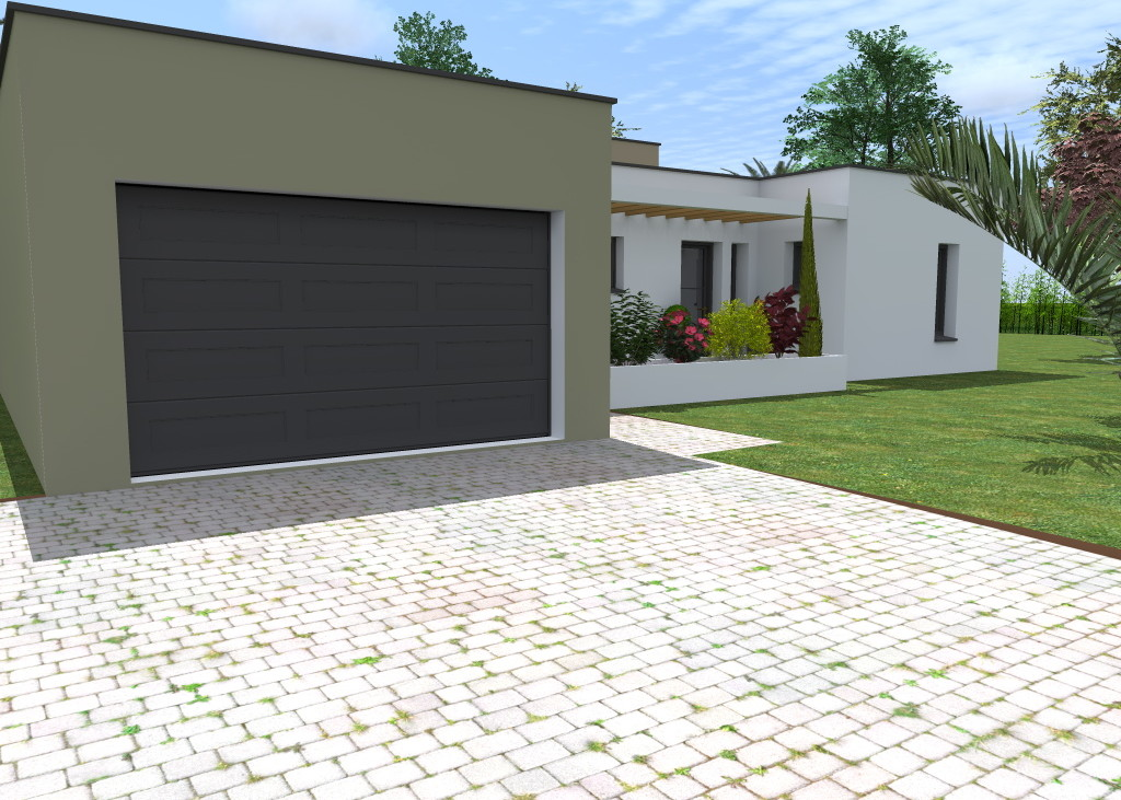 Flhomeplan maison individuelle moderne for Maisons individuelles